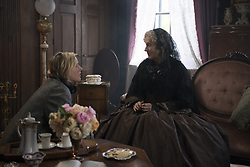 MERYL STREEP and GRETA GERWIG in LITTLE WOMEN (2019), directed by GRETA GERWIG. (Credit Image: © Columbia Pictures/Entertainment Pictures via ZUMA Press)
