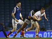 Rory Jennings (Bath Rugby) during the 2015 Under 20s 6 Nations match between England and France at the American Express Community Stadium, Brighton and Hove, England on 20 March 2015.