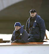 PUTNEY, LONDON, ENGLAND, 05.03.2006, Umpires right Boris Rankov, Pre 2006 Boat Race Fixtures,.   © Peter Spurrier/Intersport-images.com[Mandatory Credit Peter Spurrier/ Intersport Images] Varsity Boat Race, Rowing Course: River Thames, Championship course, Putney to Mortlake 4.25 Miles