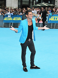 © Licensed to London News Pictures. 14/08/2013, UK. Ollie Locke, We're The Millers UK film premiere, Odeon West End cinema Leicester Square, London UK, 14 August 2013. Photo credit : Richard Goldschmidt/Piqtured/LNP