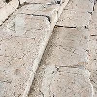 Amphithéatre romain du IIe siècle découvert en 1972 à Plovdiv