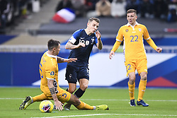 November 14, 2019, Saint Denis, FRANCE: 05 Veaceslav Posmac (mol) - 19 LUCAS DIGNE  (Credit Image: © Panoramic via ZUMA Press)