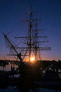 Dawn Treader, Tall Ship Pilgrim at Sunrise, Dana Point Harbor