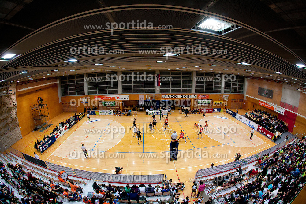 Arena during volleyball match between ACH Volley and UKO Kropa at Finals of Slovenian Cup 2010, on December 21, 2010 in Dvorana OS, Nova Gorica, Slovenia. ACH Volley defeated Kropa 3-0 and become Slovenian Cup Champion. (Photo By Vid Ponikvar / Sportida.com)