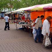 NLD/Huizen/20050625 - Verzamelaarsmarkt Oostermeent Huizen slecht bezocht