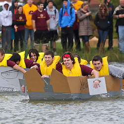 Cardboard Boat Race- Engineering