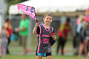 Young Knights fan ahead of the Burger King Super Smash Twenty20 cricket match Knights v Stags played at Bay Oval, Mount Maunganui, New Zealand on Wednesday 27 December 2017.<br /> <br /> Copyright photo: &copy; Bruce Lim / www.photosport.nz