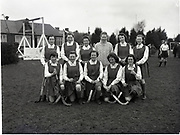Hockey School Girls interprovincial Munster V Connacht 6-3-1959