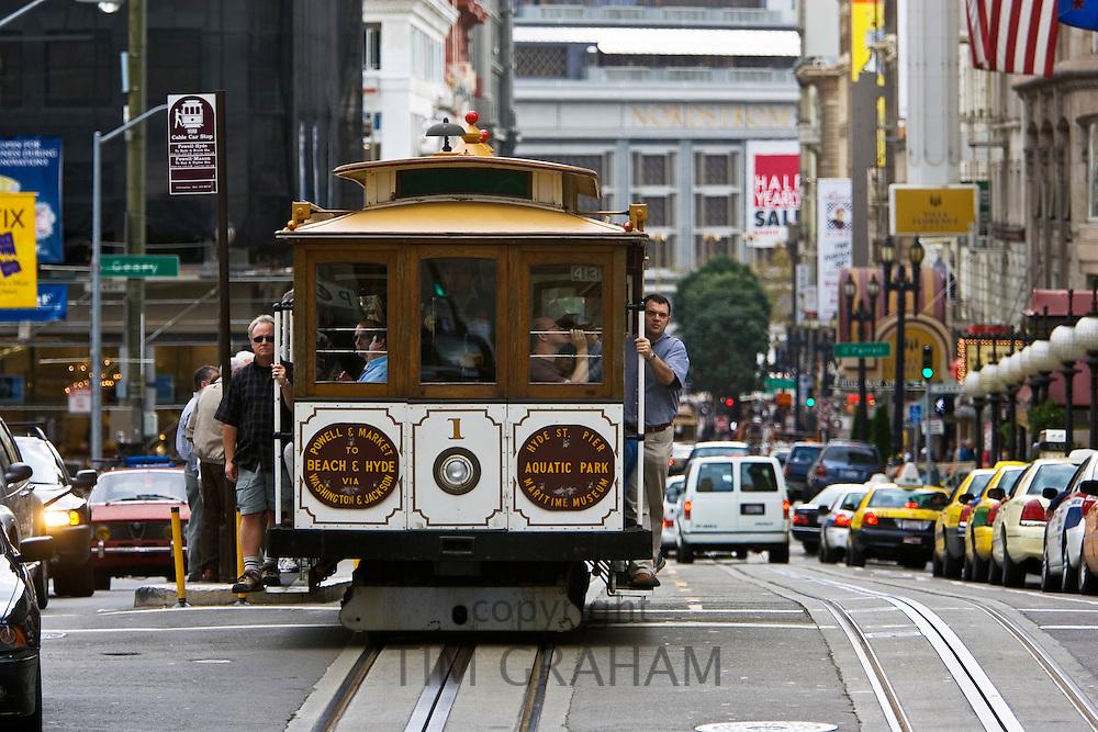 San Francisco Cable Car, California, United States of America