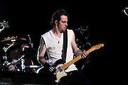 Three Days Grace performing at Carolina Rebellion at Metrolina Expo in Charlotte, NC on May 7, 2011