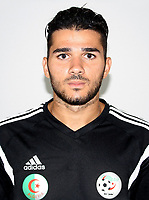 Confederation of African Football - World Cup Fifa Russia 2018 Qualifier / <br /> Algeria National Team - Preview Set - <br /> Mehdi Abeid