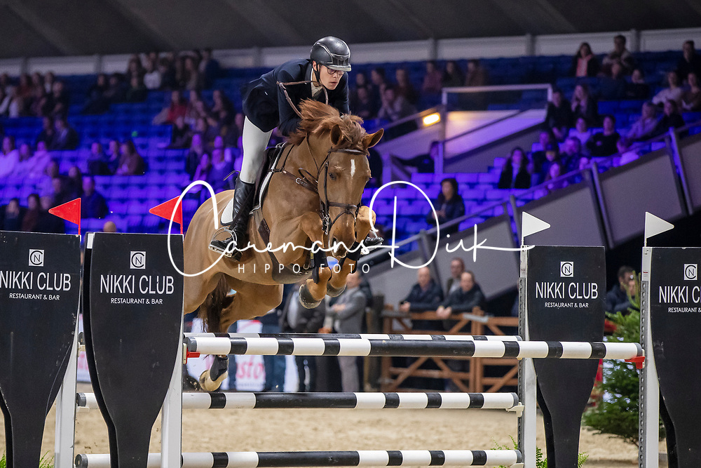 Kairis Thomas, BEL, Echos Son Z<br /> Jumping Mechelen 2019<br /> © Hippo Foto - Dirk Caremans<br />  26/12/2019