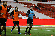 Charlton Athletic midfielder Josh Cullen warming up during the EFL Sky Bet Championship match between Nottingham Forest and Charlton Athletic at the City Ground, Nottingham, England on 11 February 2020.