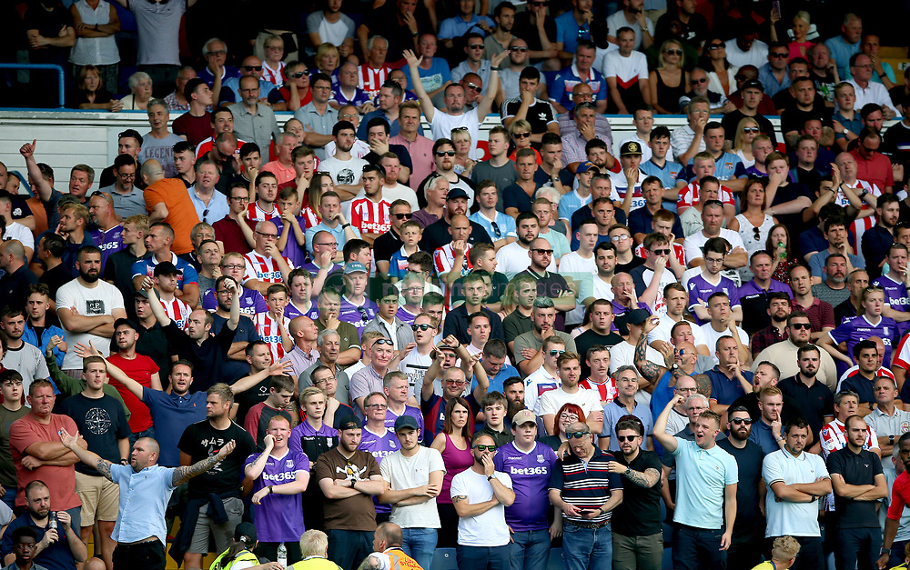 A general view of fans in the stands during the Sky Bet Championship match at Elland Road, Leeds.