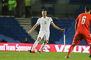 Calum Chambers (Arsenal), England U21 during the UEFA European Championship Under 21 2017 Qualifier match between England and Switzerland at the American Express Community Stadium, Brighton and Hove, England on 16 November 2015. Photo by Phil Duncan.