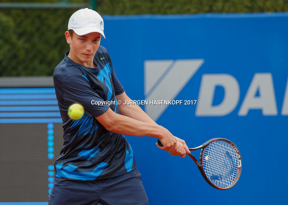 Constantin Frantzen, Rudi-Berger-Cup, Junioren Turnier<br /> <br /> Tennis - BMW Open 2017 -  ATP  -  MTTC Iphitos - Munich -  - Germany  - 5 May 2017.