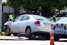 Auckland-One dead after two car collision, New Lynn