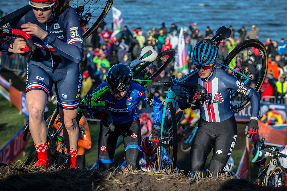 Clara HOSINGER (USA)  at the 2019 UCI Cyclo-Cross World Championships in Bogense, Denmark
