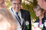 18414Academic & Research Center Groundbreaking September 29, 2007...Mr. & Mrs. Stuckey talking to Rick Vincent