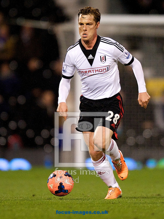 Picture by Alan Stanford/Focus Images Ltd +44 7915 056117<br /> 04/02/2014<br /> Scott Parker of Fulham during the The FA Cup match at Craven Cottage, London