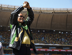 May 6, 2014 - Jacob Zuma..General election, South Africa. ANC rally in Guateng, outside Johannesburg (Credit Image: © Aftonbladet/IBL/ZUMAPRESS.com)