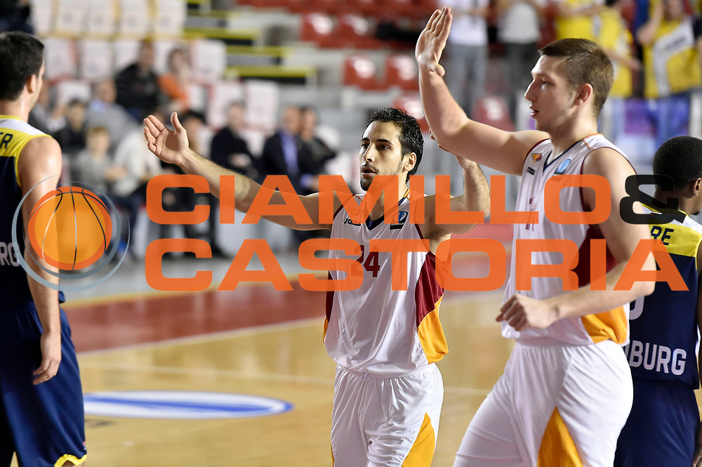 DESCRIZIONE : Eurocup 2014/15 Acea Roma Ewe Basket Oldenburg<br /> GIOCATORE : Rok Stipcevic<br /> CATEGORIA : esultanza<br /> SQUADRA : Acea Roma<br /> EVENTO : Eurocup 2014/15<br /> GARA : Acea Roma Ewe Basket Oldenburg<br /> DATA : 12/11/2014<br /> SPORT : Pallacanestro <br /> AUTORE : Agenzia Ciamillo-Castoria /GiulioCiamillo<br /> Galleria : Acea Roma Ewe Basket Oldenburg<br /> Fotonotizia : Eurocup 2014/15 Acea Roma Ewe Basket Oldenburg<br /> Predefinita :