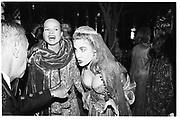 Rosekrans Ball, San Francisco, Clarisa Benecke, Joanna Kruttke 1996© Copyright Photograph by Dafydd Jones 66 Stockwell Park Rd. London SW9 0DA Tel 020 7733 0108 www.dafjones.com