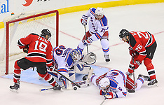 March 22, 2014: New York Rangers at New Jersey Devils