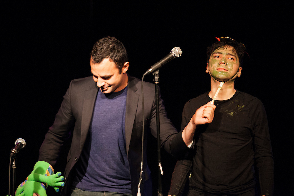 Gonzalo Cordova, Kevin Froelichs and Andrew Collin as Jeff<br />