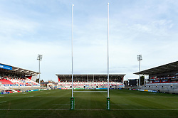 A general view of the Kingspan Stadium - Mandatory byline: Patrick Khachfe/JMP - 07966 386802 - 18/01/2020 - RUGBY UNION - Kingspan Stadium - Belfast, Northern Ireland - Ulster Rugby v Bath Rugby - Heineken Champions Cup