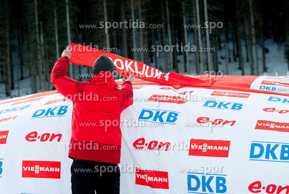 Feature during Men 10 km Sprint of the e.on IBU Biathlon World Cup on Thursday, December 13, 2012 in Pokljuka, Slovenia. The third e.on IBU World Cup stage is taking place in Rudno polje - Pokljuka, Slovenia until Sunday December 16, 2012. (Photo By Vid Ponikvar / Sportida.com)