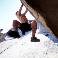 Jackton Downard boulders at City of Rocks, ID.