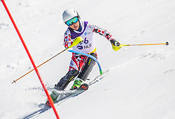 96# Takada Seitaro from Japan during the slalom of National Championship of Slovenia 2019, on March 24, 2019, on Krvavec, Slovenia. Photo by Urban Meglic / Sportida