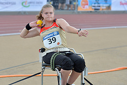 05/08/2017; Kosche, Charleen, F34, GER at 2017 World Para Athletics Junior Championships, Nottwil, Switzerland