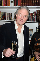 CHARLES ANSON The Queen's former press secretary at a birthday party for Lady Meyer hosted by Richard & Basia Briggs at their home 25 Sloane Gardens, London SW1 on 28th January 2009.