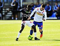Fotball Tippeligaen 2017  25.03.2017<br /> Gamle Gress Marienlyst stadion Drammen<br /> Treningskamp<br /> <br /> Resultat <br /> <br /> StrømsgodsetTokmac Nguen<br /> <br /> Sandefjord Pau Morer<br /> <br /> <br /> Foto: Robert Christensen Digitalsport