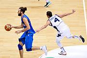 DESCRIZIONE : Trieste Nazionale Italia Uomini Torneo internazionale Italia Bosnia ed Erzegovina  Italy Bosnia and Herzegovina<br /> GIOCATORE : Luigi Datome<br /> CATEGORIA : Palleggio Contropiede Fallo<br /> SQUADRA : Italia Italy<br /> EVENTO : Torneo Internazionale Trieste<br /> GARA : Italia Bosnia ed Erzegovina  Italy Bosnia and Herzegovina<br /> DATA : 04/08/2014<br /> SPORT : Pallacanestro<br /> AUTORE : Agenzia Ciamillo-Castoria/GiulioCiamillo<br /> Galleria : FIP Nazionali 2014<br /> Fotonotizia : Trieste Nazionale Italia Uomini Torneo internazionale Italia Bosnia ed Erzegovina  Italy Bosnia and Herzegovina