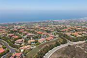 Newport Coast Community off the Coast of California Aerial Photo
