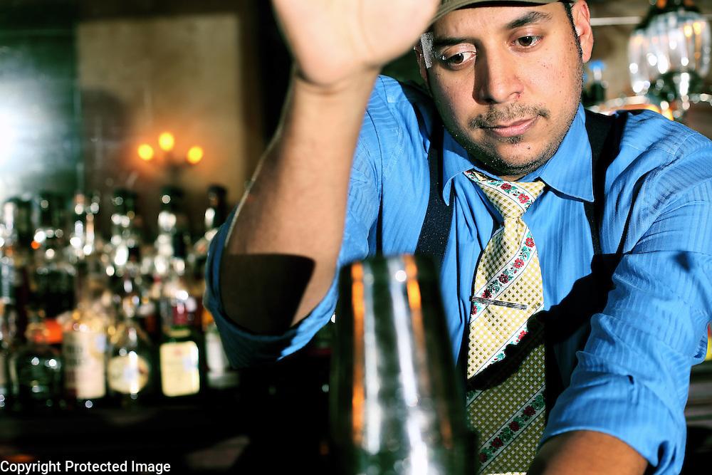 Jeret Pena, Mixologist at Esquire Tavern