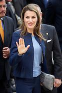 051613 princess letizia visits la rioja