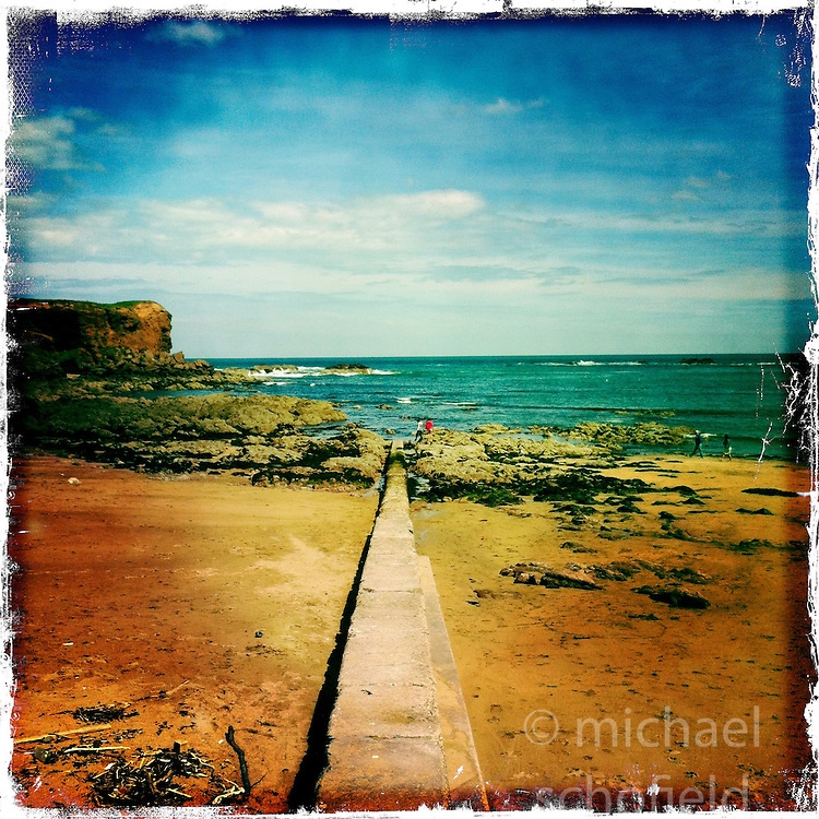 Dunbar..Hipstamatic images taken on an Apple iPhone..©Michael Schofield.