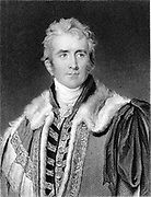 William Pitt Amherst, 1st Earl Amherst of Arracan (1773-1857): British statesman; Ambassador to Peking (1816); Governor-general of India (1823-1828). Engraving after portrait by Thomas Lawrence.