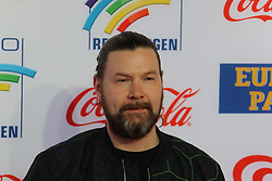 12.04.2019, Europa Park, Rust, GER, Radio Regenbogen Award 2019, im Bild Live Künstler des Jahres 2018, Rea Garvey // during the Radio Rainbow Award at the Europa Park in Rust, Germany on 2019/04/12. EXPA Pictures © 2019, PhotoCredit: EXPA/ Eibner-Pressefoto/ Joachim Hahne<br /> <br /> *****ATTENTION - OUT of GER*****