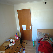 Nikkunj has been lying on his bed for over two weeks too ill and weak to leave the room.