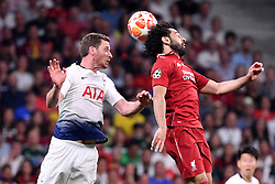June 1, 2019 - Madrid, Spagna - Foto Alfredo Falcone - LaPresse.01/06/2019 Madrid ( Spagna).Sport Calcio.Liverpool - Tottenham.Finale Uefa Champions League 2018 2019 - Stadio Wanda Metropolitano di Madrid.Nella foto: Mohamed Salah of Liverpool.Photo Alfredo Falcone - LaPresse.01/06/2019 Madrid (spain).Sport Soccer.Liverpool - Tottenham.Final Uefa Champions League  2018 2019 - Wanda Metropolitano Stadium of Madrid.In the pic: Mohamed Salah of Liverpool (Credit Image: © Alfredo Falcone/Lapresse via ZUMA Press)