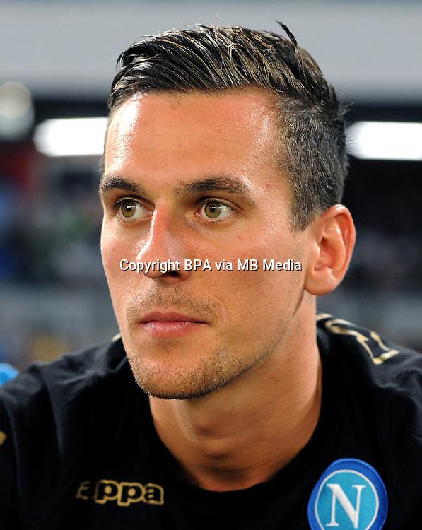 Italian League Serie A -2016-2017 / <br /> ( Ssc Napoli ) - <br /> Arkadiusz Milik