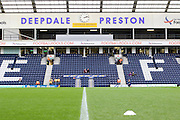 Deepdale before the Sky Bet Championship match between Preston North End and Hull City at Deepdale, Preston, England on 28 December 2015. Photo by Pete Burns.