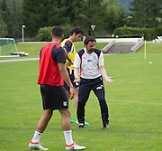 Dundee manager Paul Hartley makes a point during training - Day 4 of Dundee FC pre-season training camp in Obertraun, Austria<br /> <br />  - &copy; David Young - www.davidyoungphoto.co.uk - email: davidyoungphoto@gmail.com