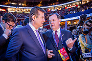 Former Trump campaign manager Paul Manafort at The Republican National Convention in Cleveland