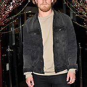 Harry Goodwins of Shipwrecked attend Travel bag brand hosts the launch of its exclusive luxury collection of handbags in collaboration with model and designer Anastasiia Masiutkina  D'Ambrosio on 26 March 2019, Caviar House & Prunier 161 Piccadilly, London, UK.